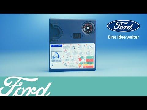 So verwenden Sie das Reifenreparaturset | Ford Austria