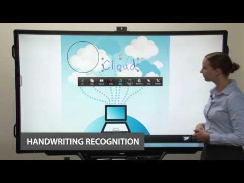 Wireless AQUOS BOARD® Interactive Display System Overview