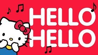 Videoclipe: Hello, hello - Aprendendo idiomas ♪ | O Mundo da Hello Kitty