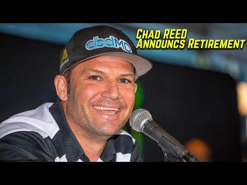 Chad Reed announces retirement - Motocross Action Magazine