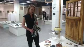 "Paulina Strzegowska- ""Europa""- Santana - Sax Cover"