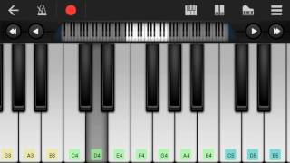 WWE John Cena Theme | Perfect Piano Cover | Tutorial | Notes | Mobile Piano | Keyboard