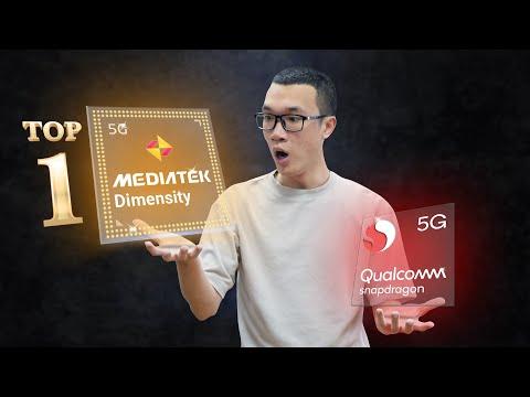 Không phải Qualcomm, MediaTek mới là ông vua của chipset hiện tại