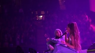ARIANA GRANDE AND MAC MILLER SING THE WAY AT THE DANGEROUS WOMAN TOUR 2017