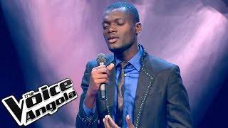 "Alfredo Yungi - ""Let it be"" / The Voice Angola 2015: Audição Cega"