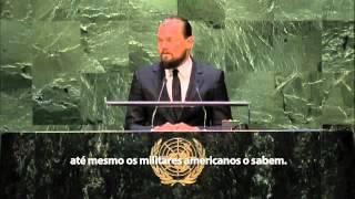 Leonardo Dicaprio discurso (legendado) - 2014 UN Climate