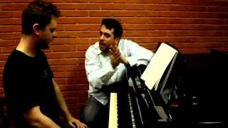 Aula de Piano com o Professor Maurício Meirelles