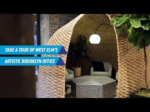 Take a Look Inside West Elm's Art-Filled Brooklyn Office | Inc. Magazine