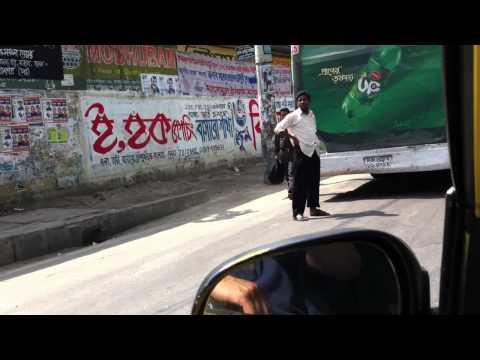 A Taxi ride in Dhaka Bangladesh may 2011