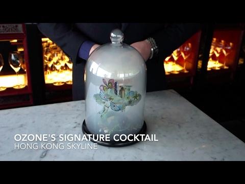 The Ritz-Carlton, Hong Kong - Ozone Signature Cocktail (HK Skyline)