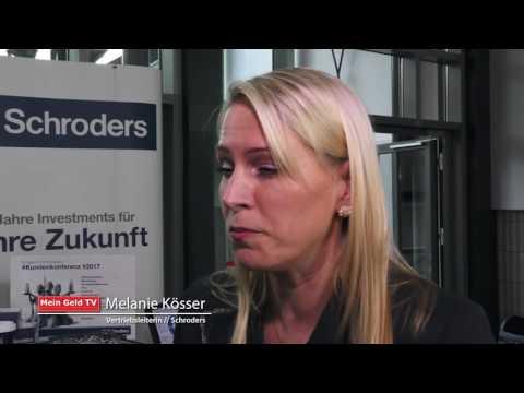 """Schroders: Melanie Kösser im Interview über das Thema """"Perspektiven für Anleger in 2017"""""""