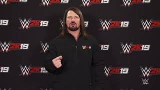 WWE 2K19 Million Dollar Challenge announced by cover Superstar AJ Styles