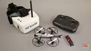 Fat Shark 101 Micro FPV RC Drone  With Recon FPV Goggles US$ 249.00