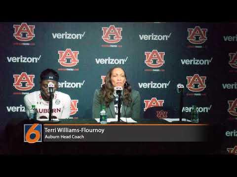 Coach Flournoy Press Conference (Auburn vs Texas A&M)