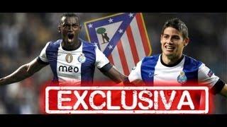 Jackson Martínez y James Rodríguez objetivos del Atlético de Madrid