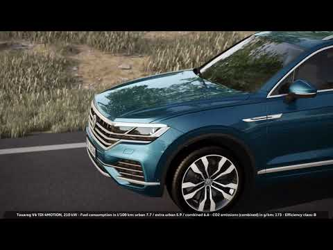 The new Touareg: Air Suspension