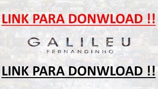 Fernandinho Galileu CD lançamento 2015