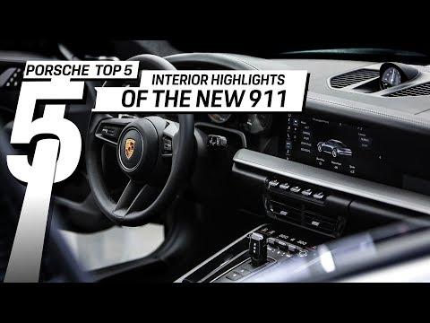 Porsche Top 5 Series: Interior Highlights of the new 911