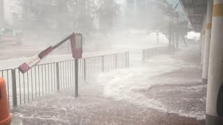 Typhoon Hato Batters Hong Kong 23rd August 2017