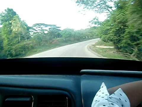 Rio Blanco- Unicuas Nicaragua Carretera Manejando