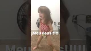 Criança de 2 anos dançando funk!!!