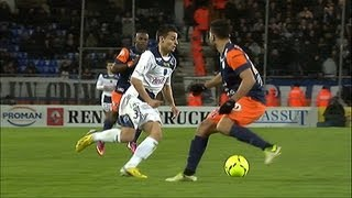 Super but Corentin JEAN (50') - Montpellier Hérault SC - ESTAC Troyes (1-1) / 2012-13
