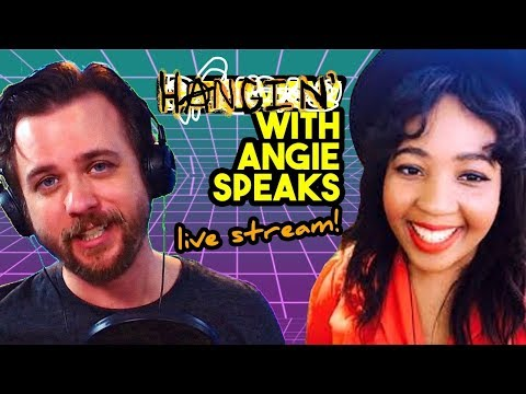 Hangin' out with Angie Speaks!