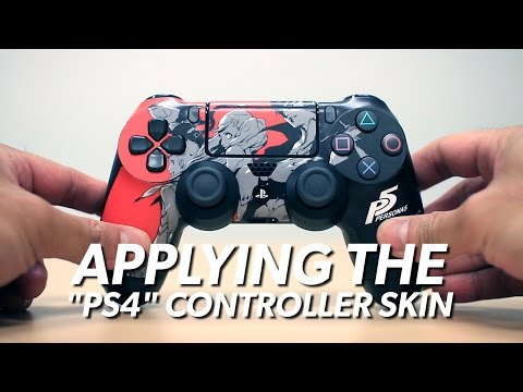Check Out the Persona 5 Standard Edition PS4 Controller Skin!