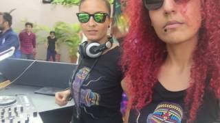 les insoumises : kayza & samar  - Festival FULL MOON @ NYEX BEACH CLUB ( INDIA TOUR 2017) TRANCE