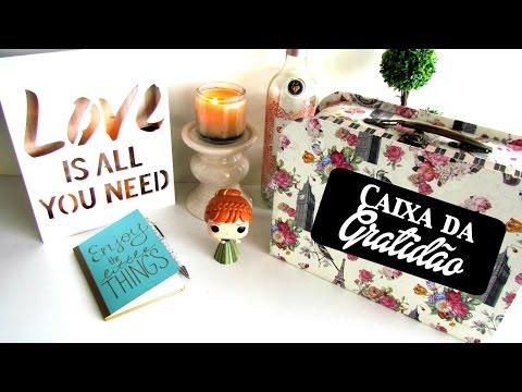 DIY - Caixa da Gratidão | Pigmento F