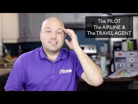 The PILOT, the AIRLINE & the TRAVEL AGENT