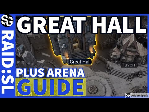 RAID SHADOW LEGENDS | GREAT HALL + PVP GUIDE