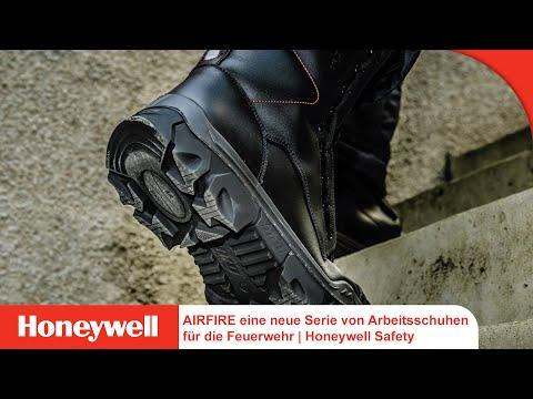 AIRFIRE eine neue Serie von Arbeitsschuhen für die Feuerwehr   Honeywell Safety