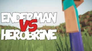 ENDERMAN VS HEROBRINE | Zarcort Ft. Deigamer