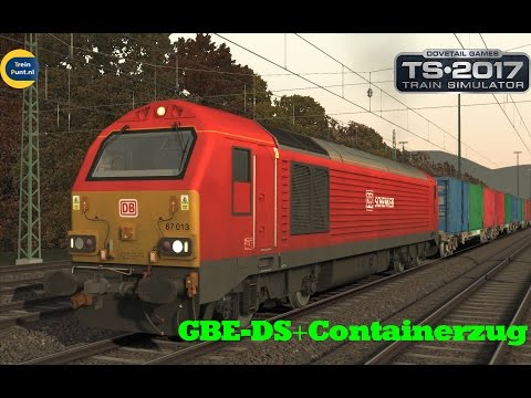 GBE-DS+Containerzug | Class 67 DB | Train Simulator 2017