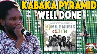 Kabaka Pyramid - Well Done @ 9 Mile Music Festival in Miami [February 27th 2016]