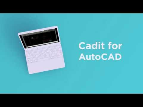 Complete your AutoCAD with Cadit
