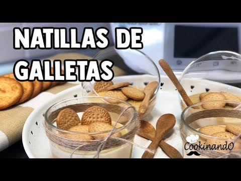 NATILLAS DE GALLETAS con THERMOMIX