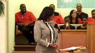 Intro of Speaker - 1st Ldy Beasley 11-29-10.mov