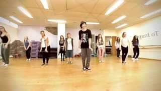 C2C Feat Derek Martin - Happy | Dance TUTORIAL | BeStreet