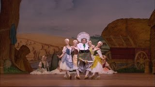 La fille mal gardée - The Clog Dance from Act I (The Royal Ballet)