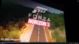 FORZA HORIZON 3 E3 GAMEPLAY TRAILER ??? LEAKED FOOTAGE XBOX ONE