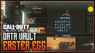 Black Ops 3 - SECRET MENU FOUND! - DATA VAULT EASTER EGG MENU - What To Input!?