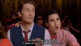 Glee - Don't Stop Believin' Season 5 (Full Performance with Lyrics)