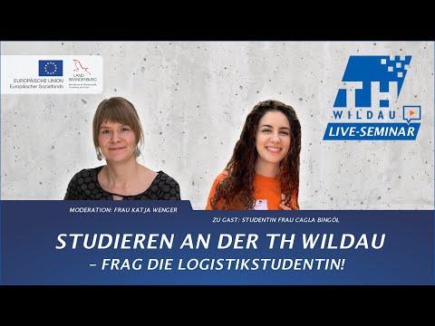 Webinar | Studieren an der TH Wildau – Frag die Logistikstudentin!