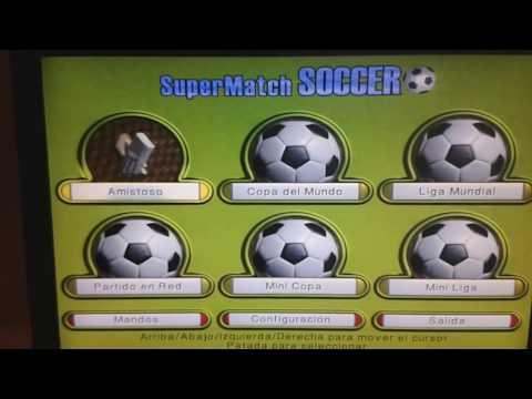 Después de los Micros: Copía física y Gameplay de Super Match Soccer (Jon Ritman)