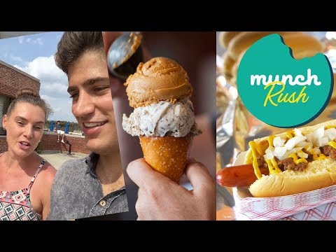 Munch Rush! Devour Power Takes on Jacob Riis Park | Food Network