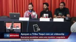 Lanza #Lengualerta videoclip a favor de los Yaquis