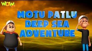 Motu Patlu Deep Sea Adventure - Motu Patlu Movie - ENGLISH, SPANISH & FRENCH SUBTITLES! width=
