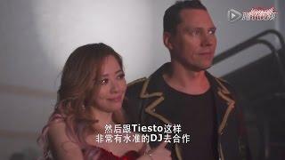 "Tiësto/張靚穎 ""Change Your World"" MV紐約拍攝花絮 (百威Vibe電波秀)"
